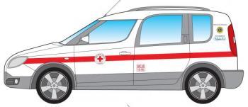 Consegna automezzo per trasporto disabili alla Croce Rossa