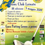 Locandina Gara Golf 2019