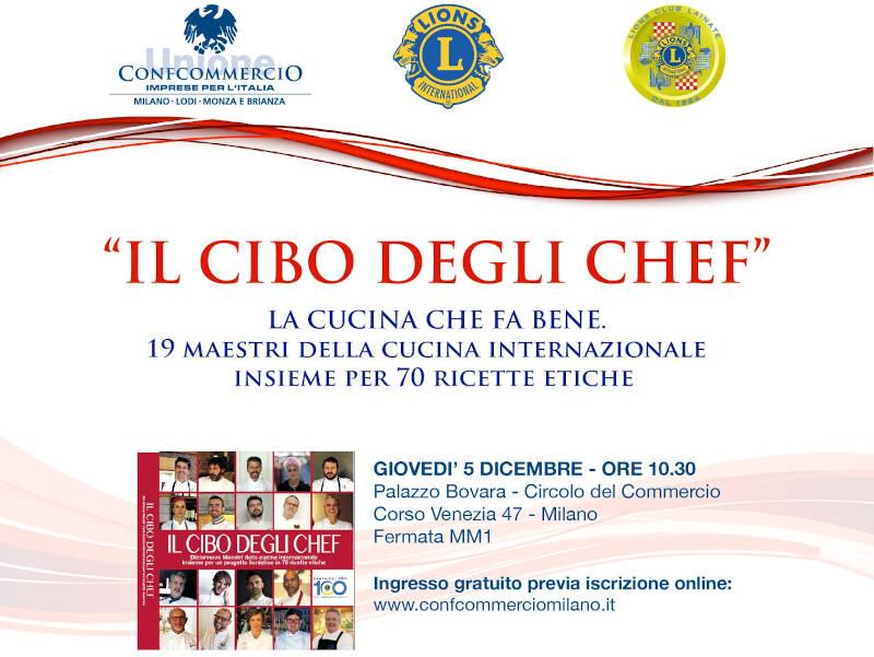 """Tavola rotonda """"Il Cibo degli Chef"""" 5 dicembre 2019"""